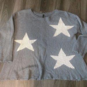 Elan large star sweater